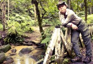 Mauro nella foresta malese