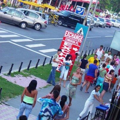 strada principale di Neptun (Romania)
