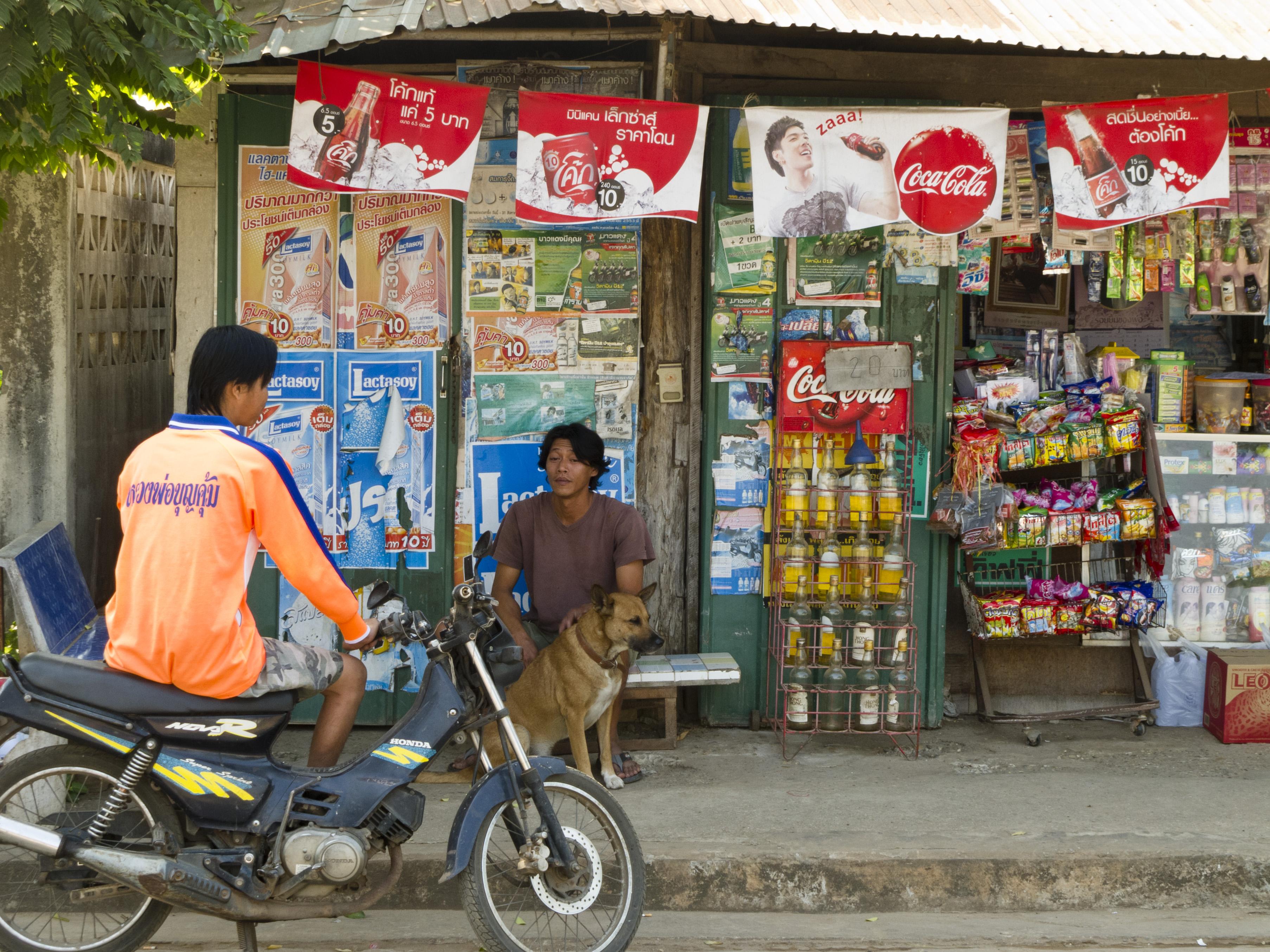 Negozi di Nong Khai (Thailandia)