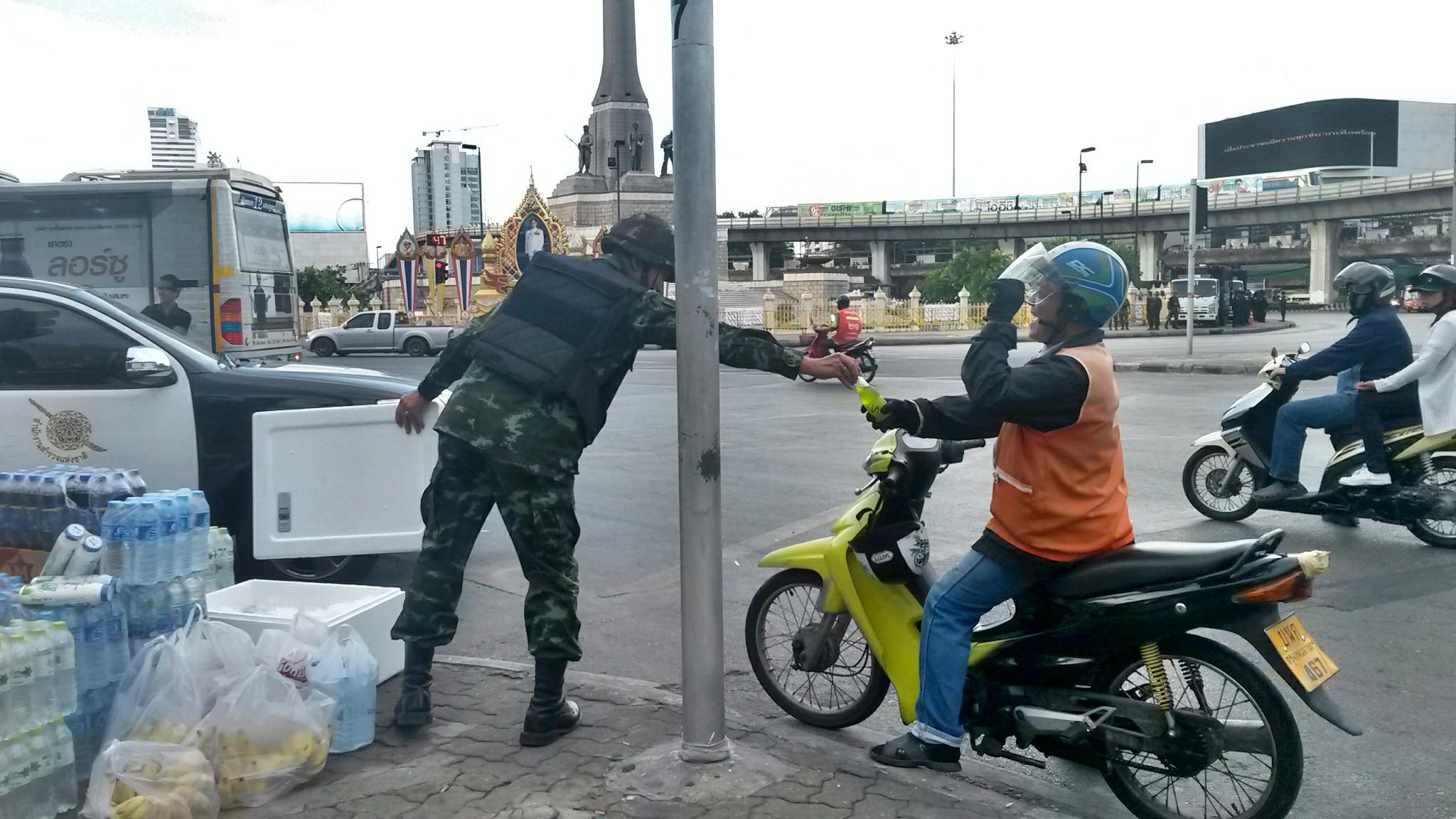 Militari a Bangkok (2014)