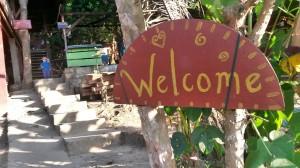 cartello di benvenuto