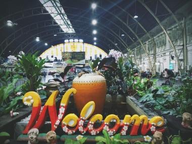 La stazione ferroviaria di Bangkok