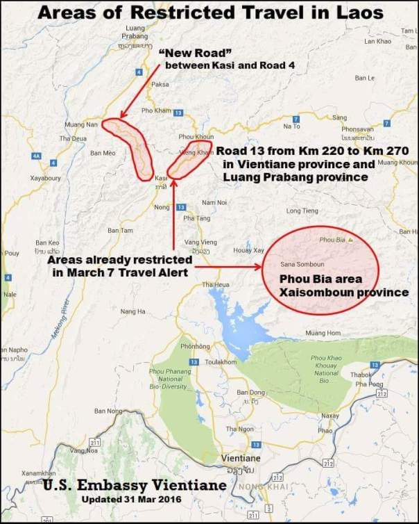 La mappa delle zone a rischio