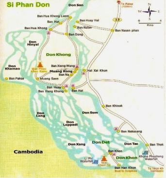 Malla di Sii Phan Don (4000 isole)