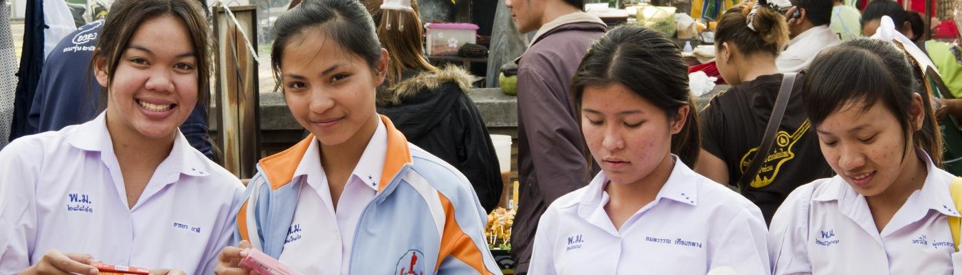 Studentesse thailandesi