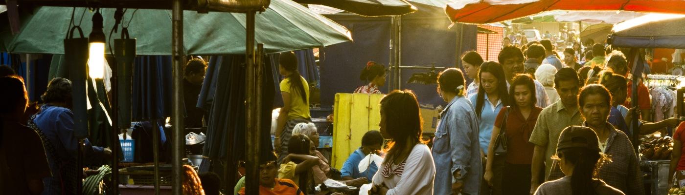 Mercato laotiano